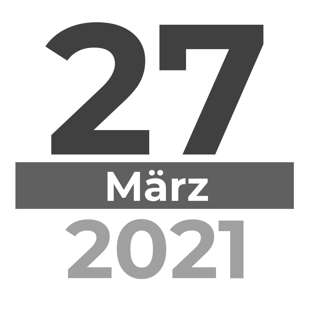 Tatort am 27.03.2021